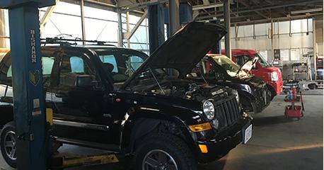 国家資格をもった検査員がお客様のお車をしっかり検査します。
